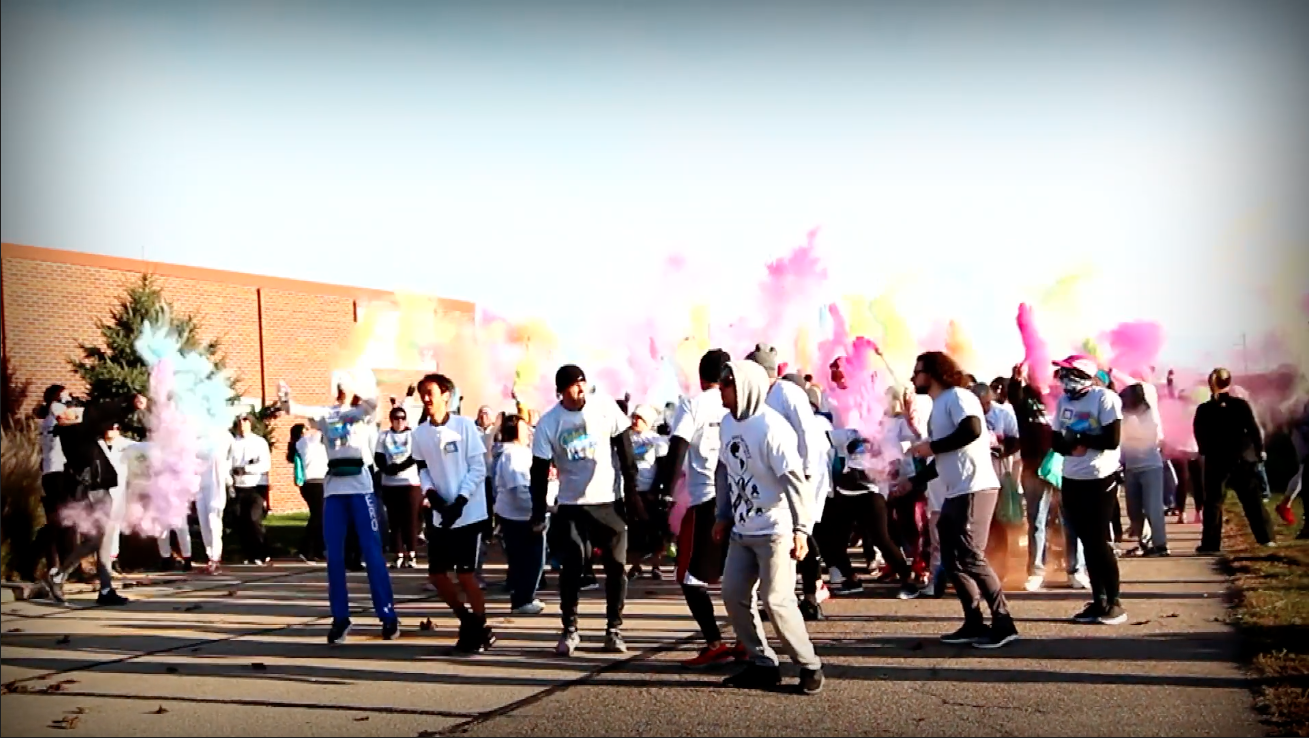 Liberty Centre Color Run 2019